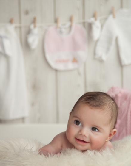 Fotografia de estudio para bebé Valencia