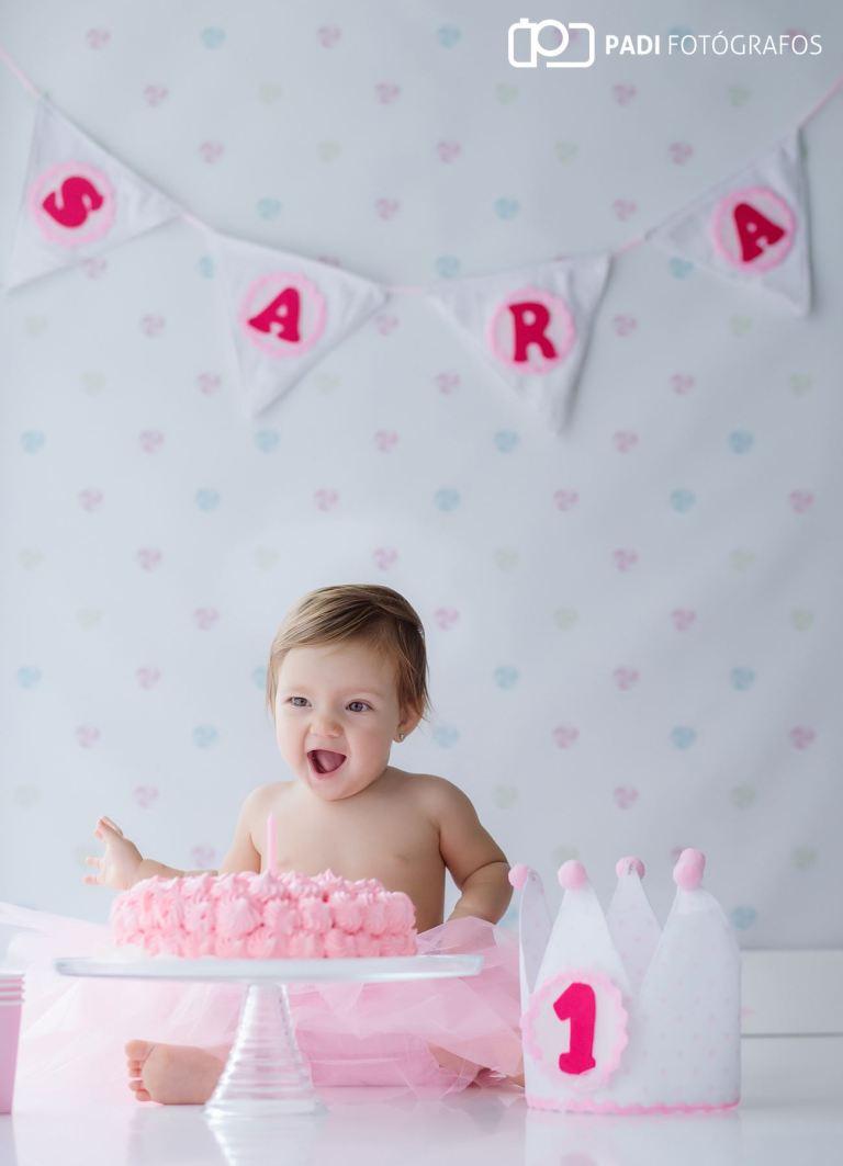 Fotografías Smash Cake Sara