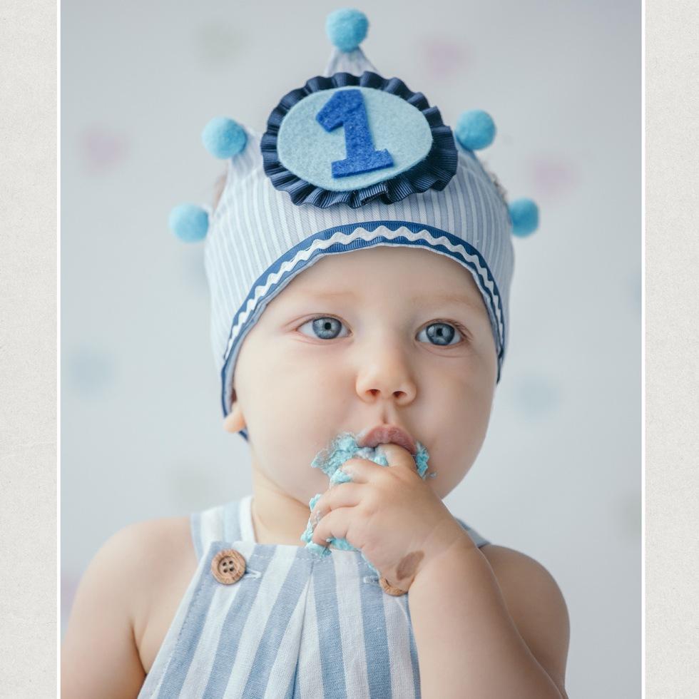 Lucas,sesion fotografica primer cumpleaños
